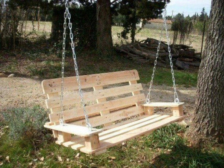 Pallet Wood Swing Projects