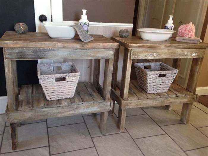 Pallet Wood Bathroom Projects Pallet Wood Projects