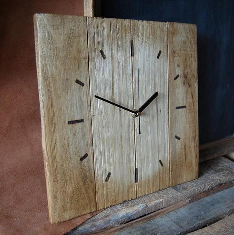 Pallet Clock Idea