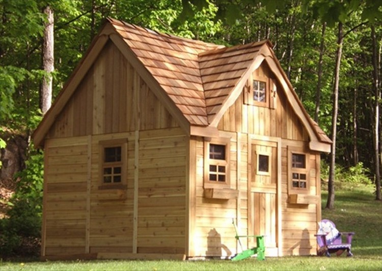 Wooden pallet house plans pallet wood projects for How to make a playhouse out of wood