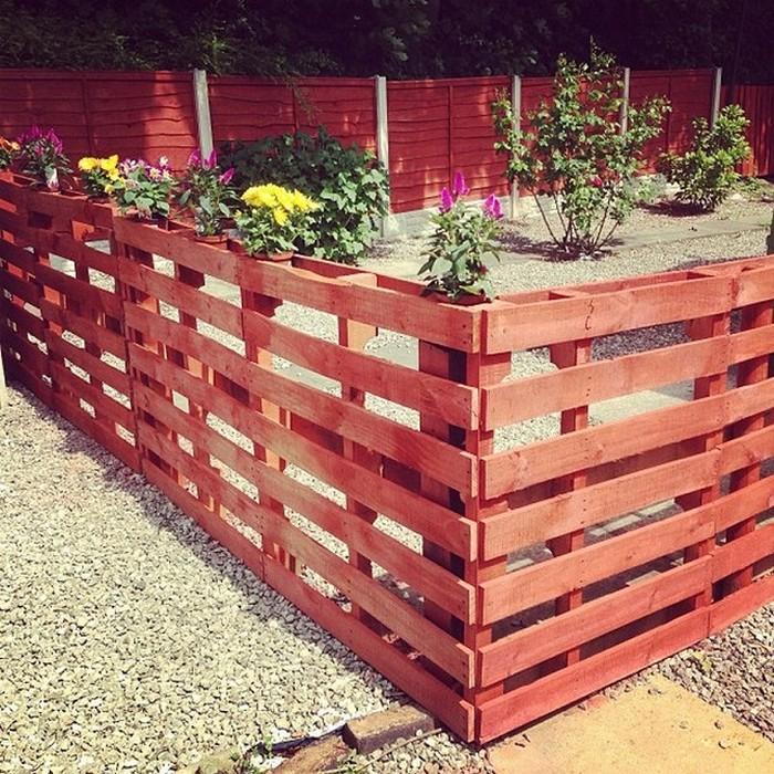 Pallet Stylish Fence