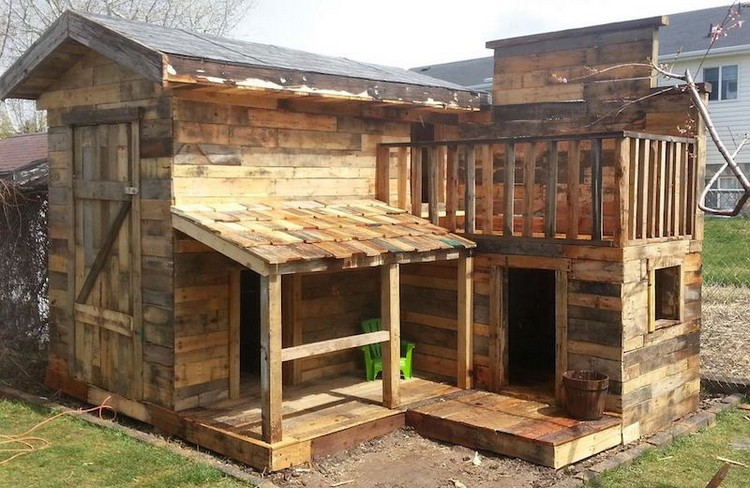 Pallet Wood House