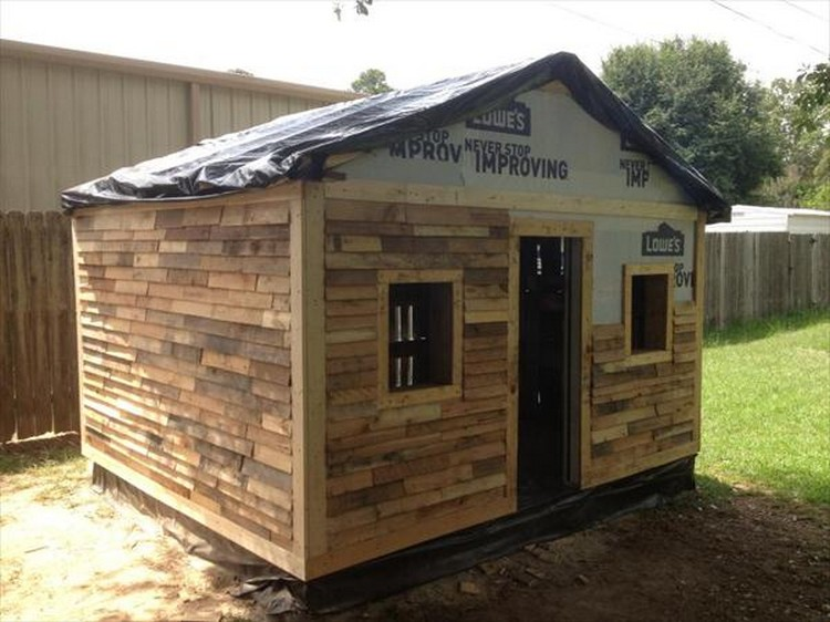 Wooden Pallet House Plans | Pallet Wood Projects