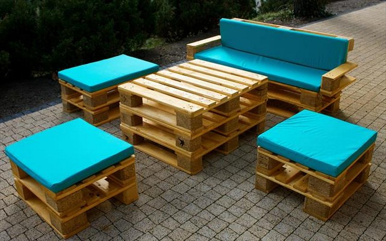 Gallery For Pallet Patio Furniture Plans