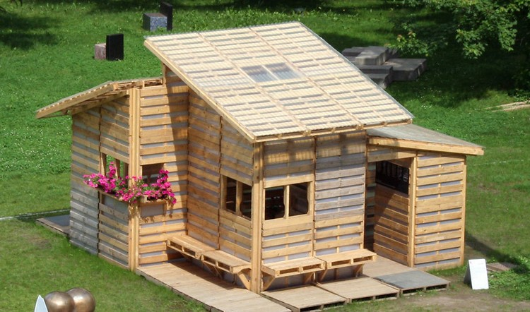 Wooden pallet house plans pallet wood projects for Wood homes plans
