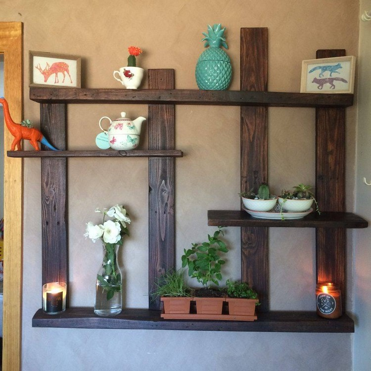 wood wall decor pallet shelves with wall decor pallet wood projects 31074