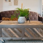 Wooden Pallets Coffee Table