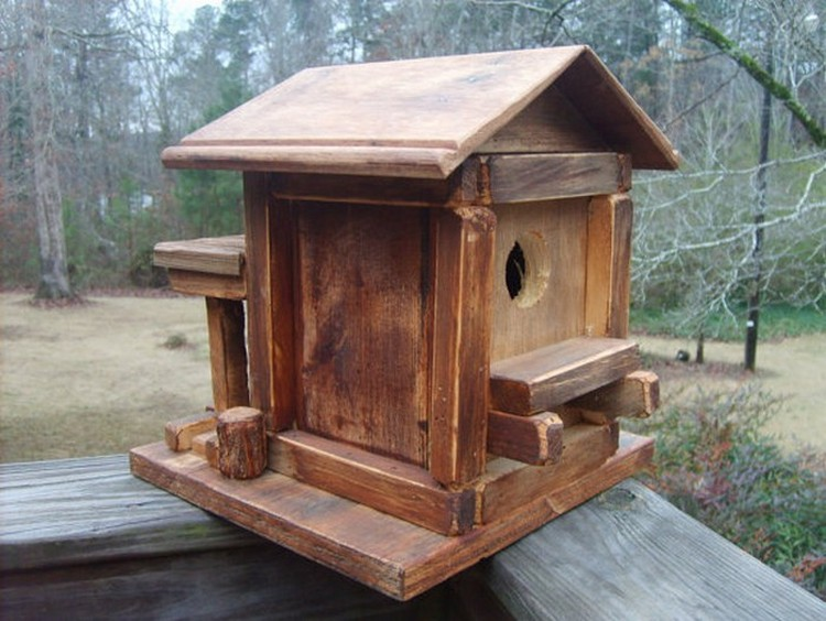 Pallet-Birdhouse Pallet Wood Bird Houses Plans on wooden bird house plans, build bird houses plans, wood pallet birdhouse, diy bird houses plans, wood duck bird house plans,