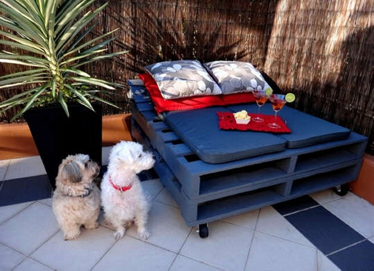 Pallet Daybed Idea