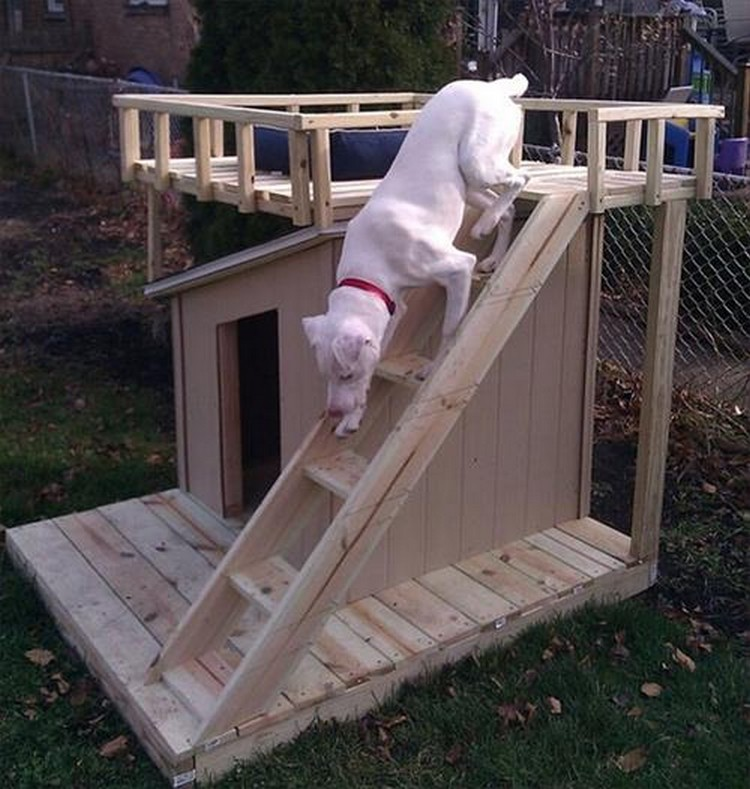 Wooden Pallet Dog House Plans Pallet Wood Projects