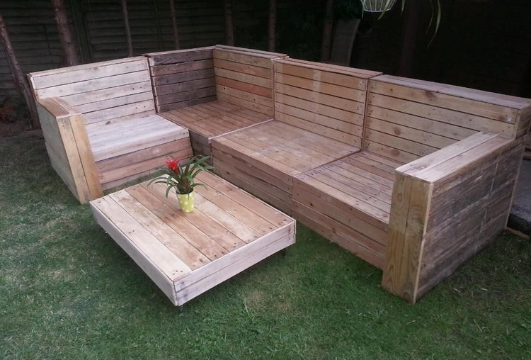 Garden Furniture From Wooden Pallets diy pallet garden furniture plans | pallet wood projects