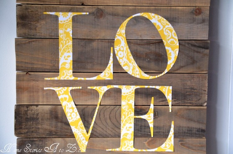 Pallet Love Sign Boards