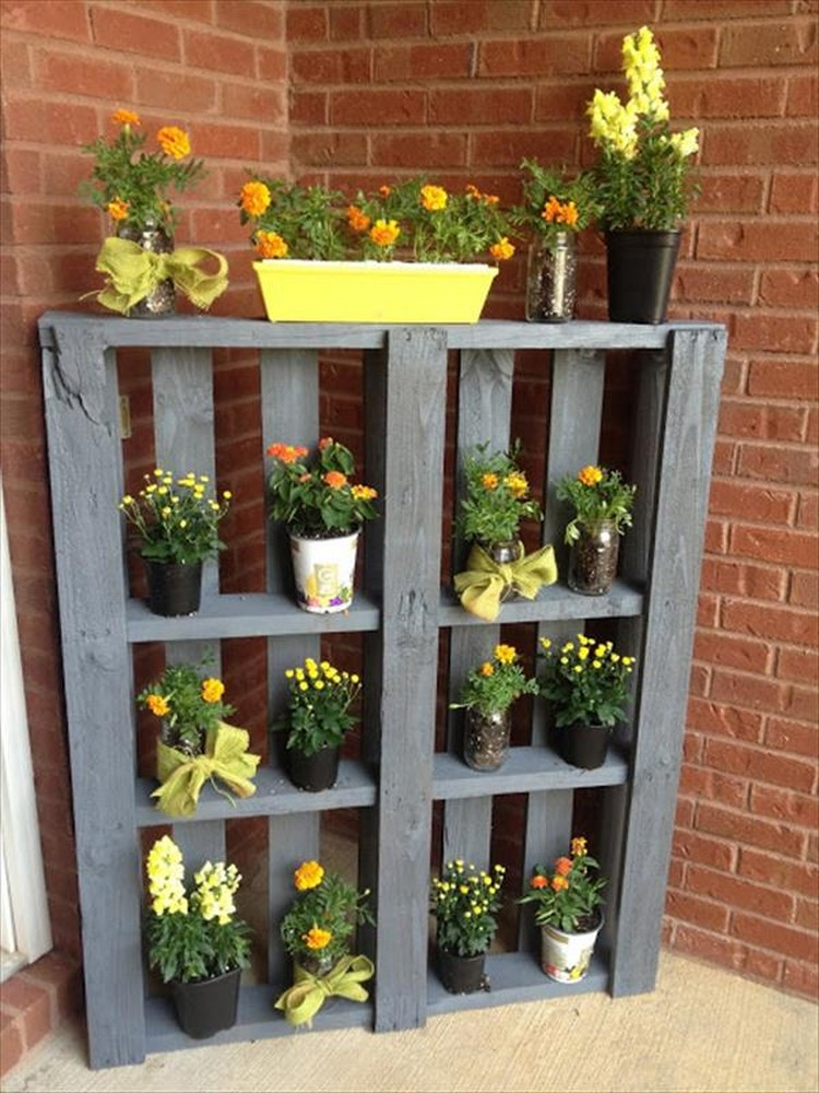... Pallet Vertical Garden Planter ...