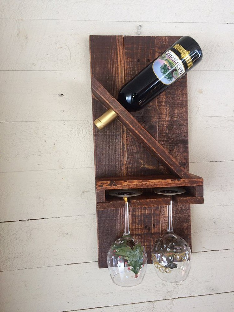 Wooden pallet wine rack plans pallet wood projects Wine rack designs wood