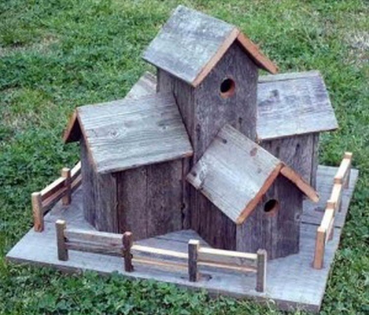 Pallet wood birdhouse plans pallet wood projects for Birdhouse project