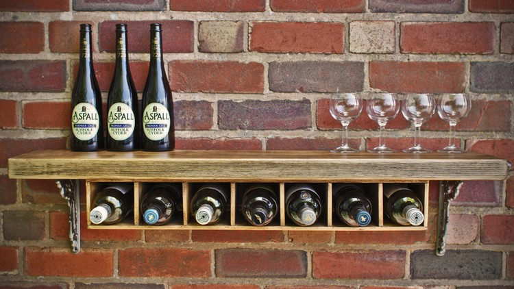 Wooden Pallet Wine Rack Plans | Pallet Wood Projects