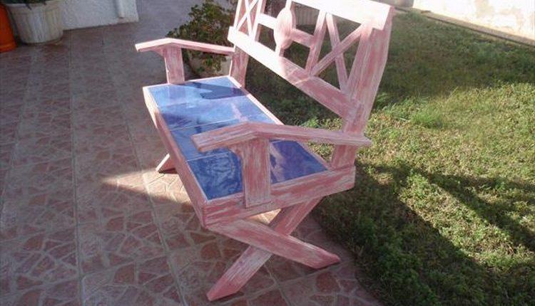 Stylish Pallet Bench