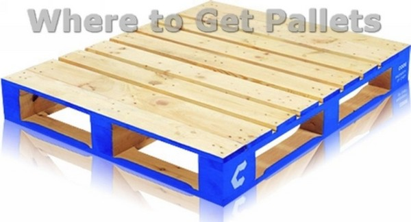 Where to Get Free Wood Pallets | Pallet Wood Projects