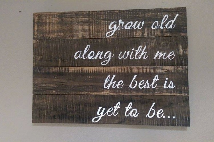 Wood Pallet Sign Board