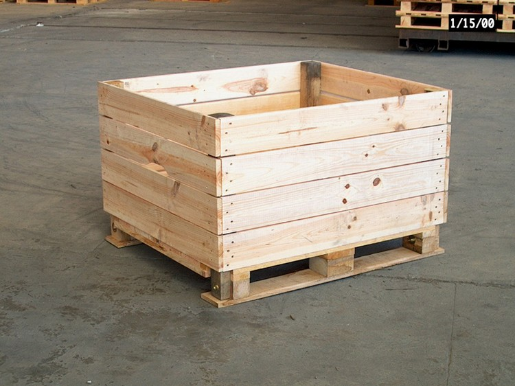 DIY Wooden Pallet Storage Box Plans | Pallet Wood Projects