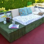 Wooden Pallet Outdoor Daybed