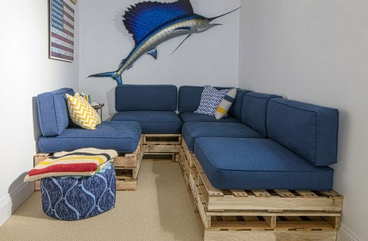 Corner Pallet Sofa