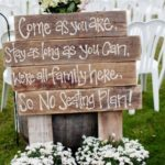 Cute Pallet Wedding Signs