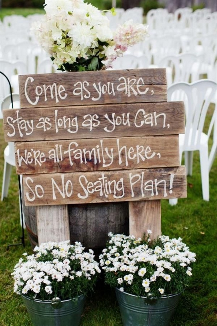 Wooden Pallet Wedding Signs Pallet Wood Projects