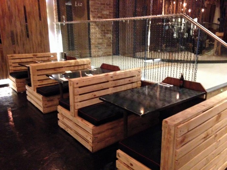 Pallet Made Restaurant Furniture