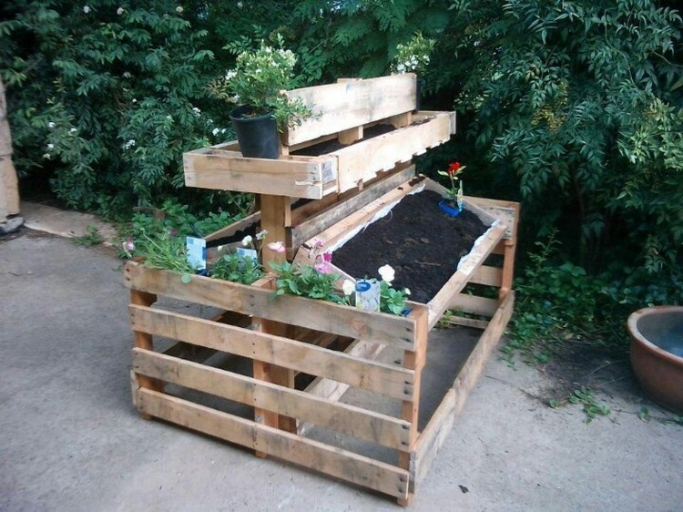 Pallet Potting Bench Plans Pallet Wood Projects