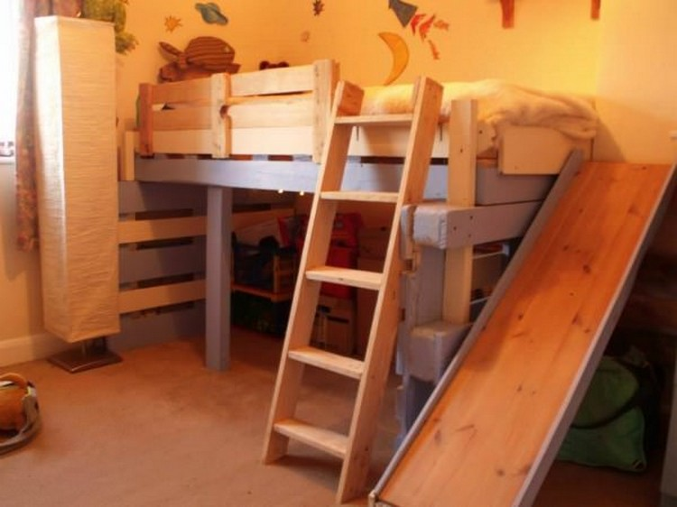 Toddlers Beds Made from Wooden Pallets | Pallet Wood Projects