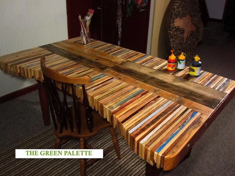 Pallet Dining Table Idea