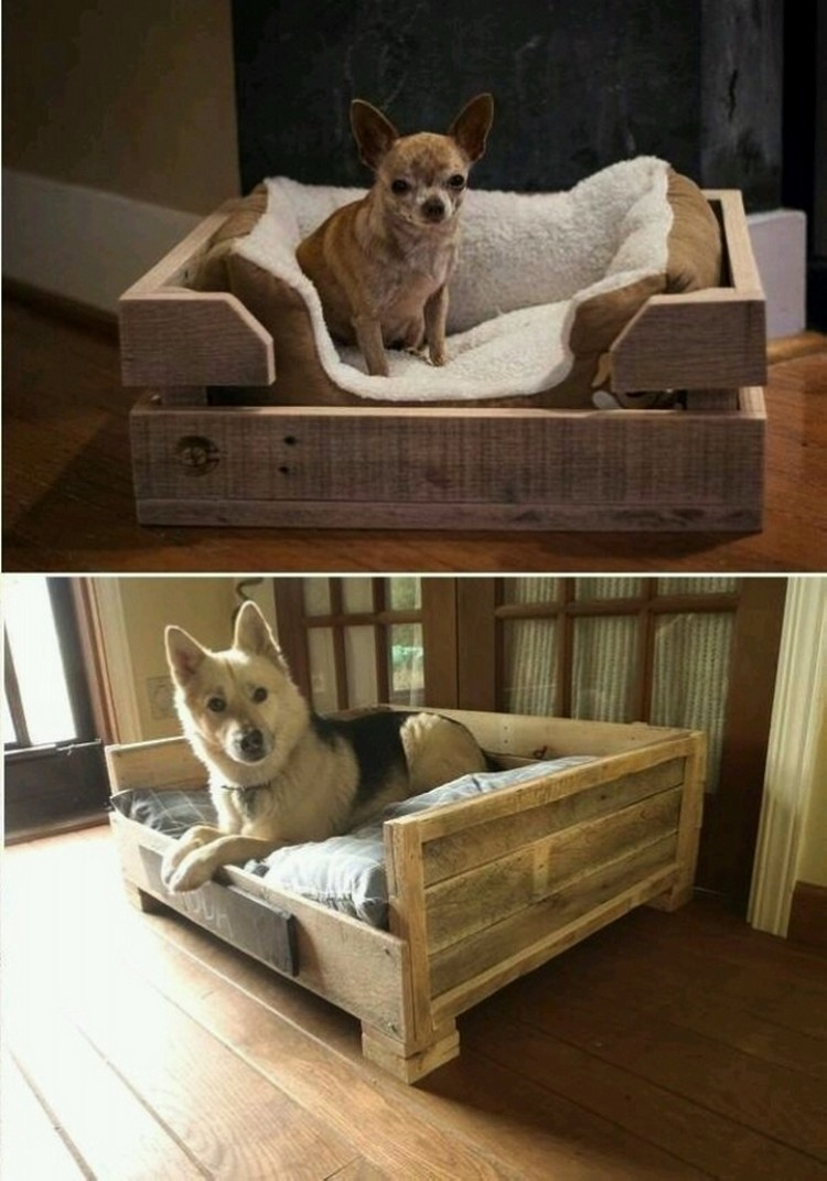 Wooden Dog Bed Designs
