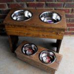 Pallet Dog Bowl