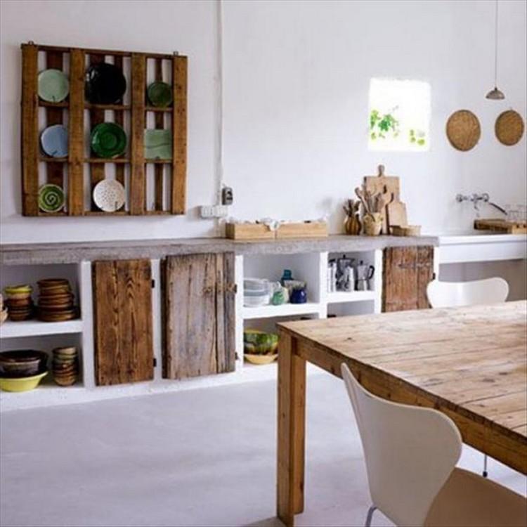 Pallet Ideas for Kitchen