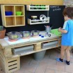 Pallet Kids Kitchen Mud