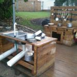 Pallet Outdoor Kitchen Plans