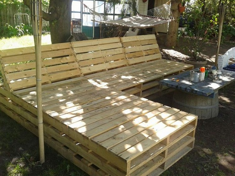 Patio furniture made out of pallets pallet wood projects for How to make furniture out of wood pallets