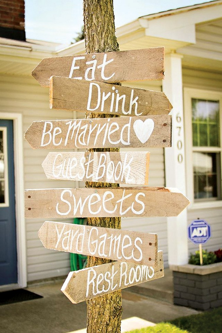 Pallet Party & Wedding Signs