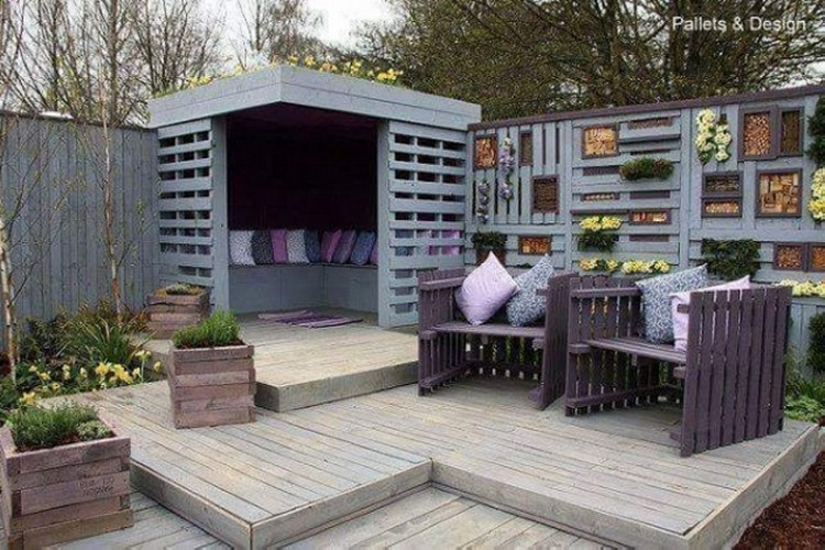 Imaginative pallet wood ideas pallet wood projects for Casetas de metal para jardin