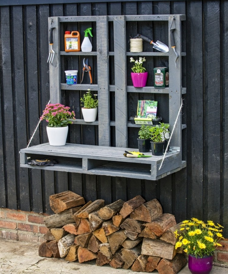 Pallet Potting Bench Plans