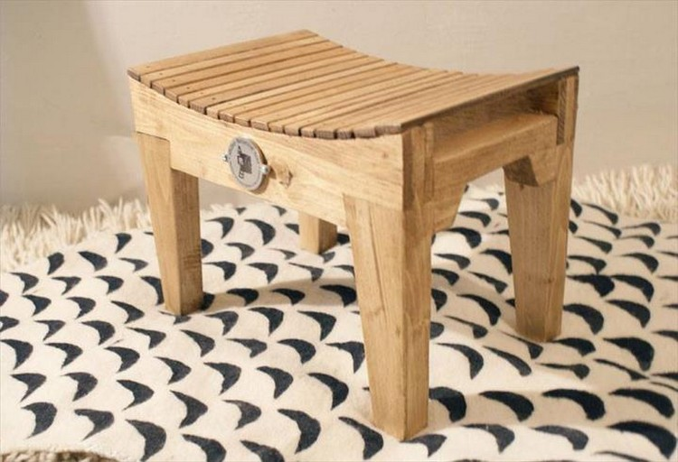 ... Bar Counter with Stools Pallet Stool ... & Wooden Pallet Stool Plans | Pallet Wood Projects islam-shia.org
