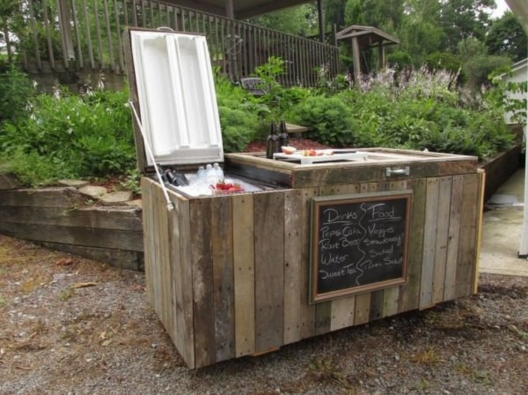 Wooden Pallet Cooler Designs | Pallet Wood Projects