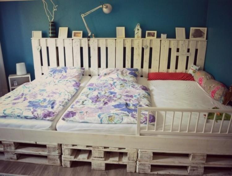 Wooden Pallet Bed for Kids