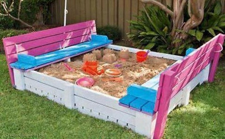 Wooden Pallet Ideas for Kids