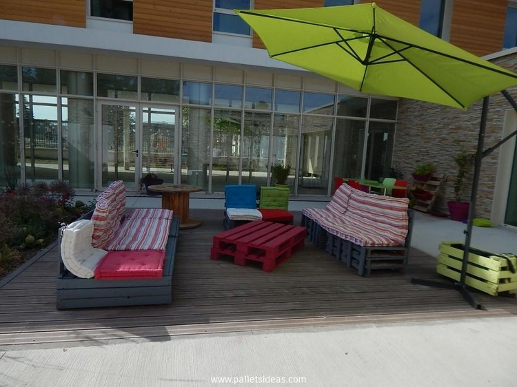 Outdoor Pallet Furniture Plans