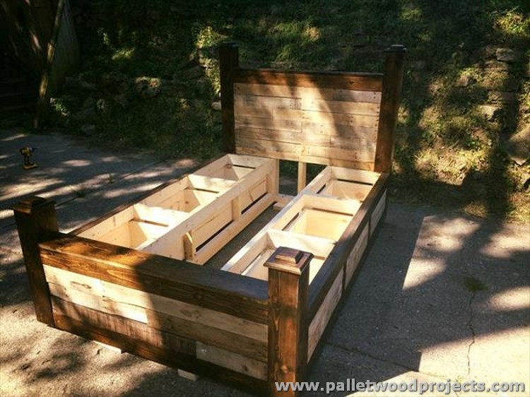 Permalink to woodworking plans twin storage bed