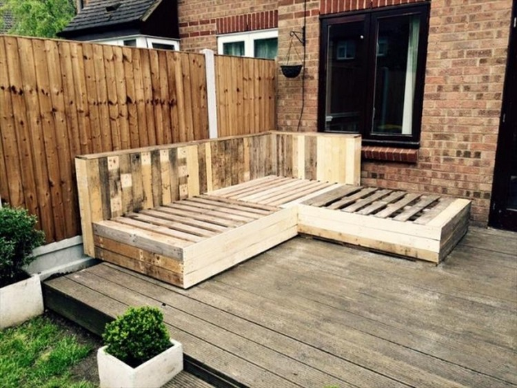 Pallet wood deck plans pallet wood projects - Decking furniture ideas ...