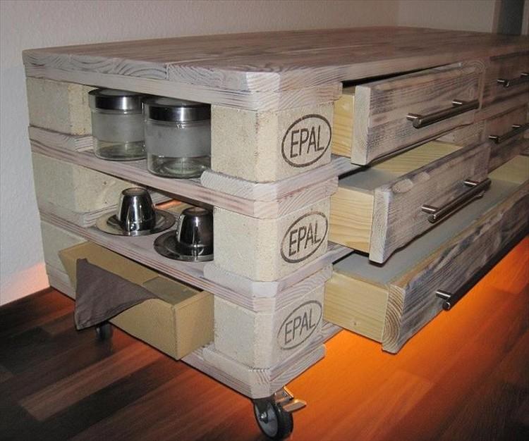 Pallet Dresser or Media Console