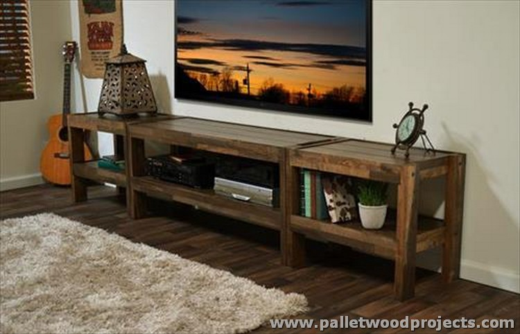 Pallet Made Console Table